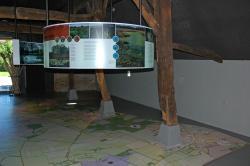 Inrichting bezoekerscentrum