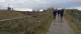 Even een luchtje scheppen op Forteiland IJmuiden: locatie van de expertmeeting.
