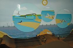 Interactive 'Zandhonger in de Oosterschelde'